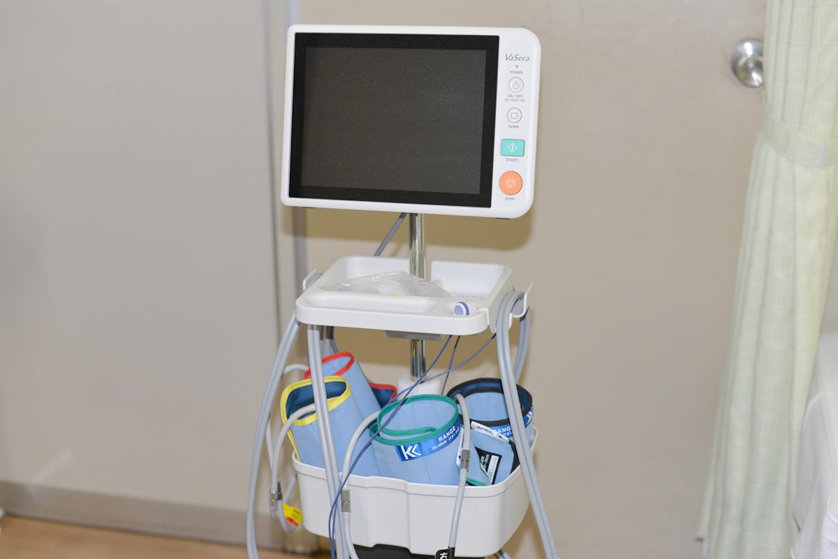 血管動脈硬化検査機